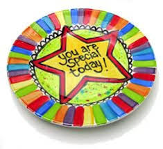 plate you are special this celebration plate use whenever someone in the family