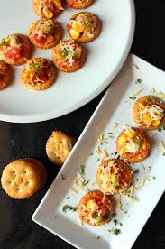 easy canapes recipe of biscuit canapes how to biscuit canapes vegrecipeworld