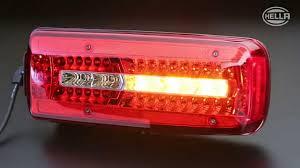 led brake lights for trucks hella full led rear combination l youtube