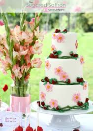 15 lovely spring wedding cake decorating ideas style motivation