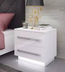 White Bedroom Night Tables Bedroom Furniture Sets Nightstand Table Lamp Books Flower Vase