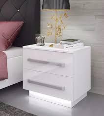 White Glass Bedroom Furniture Bedroom Furniture Sets Wooden Nightstand Bedside Bedding