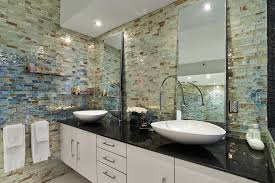 100 glass tile for bathrooms ideas top 25 best beige tile