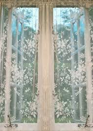 Bird Lace Curtains Best 25 Lace Curtains Ideas On Pinterest Window Dressings