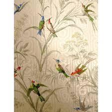vintage bird wallpaper