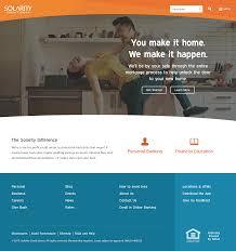 financial website design inspiration tim b design