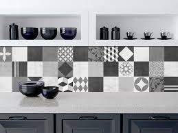 Tile Decals For Kitchen Backsplash Geometric Graphite Tile Stickers Kitchen Backsplash Tiles