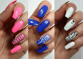 3 easy accent nail ideas freehand khrystynas nail art youtube