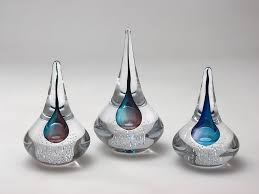 glass ornaments with steeple style home accessories