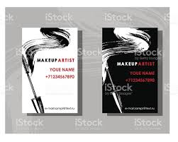 makeup artist book makeup artist business card stock vector 639298366 istock