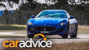 maserati gt 2015 2015 maserati granturismo mc sport review track test youtube