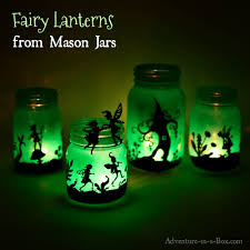Mason Jar Halloween Lantern Fairy Lanterns From Mason Jars Adventure In A Box