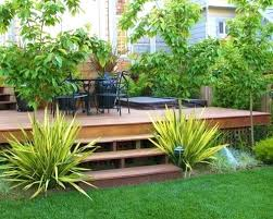 Deck Garden Ideas Decks And Landscaping Ideas Backyard Transformations From