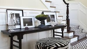 Zebra Ottoman Zebra Ottoman Contemporary Entrance Foyer Nanjoo Design