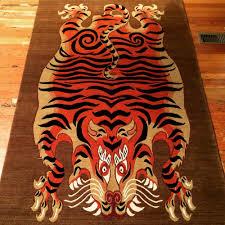 tibetan tiger rug from nepal 100 wool best design yelp