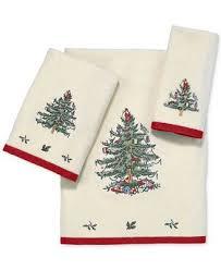 christmas towels closeout avanti spode christmas tree bath towel bath towels