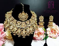 indian bridal jewelry necklace images Sabyasachi indian necklace kundan earrings indian bridal jpg