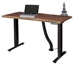 live edge computer desk adjustable standing desk with live edge