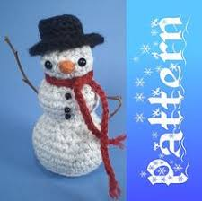 cute snowman free download crochet pattern ravelry