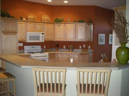 Kitchen Paint Colors With Maple Cabinets Terracotta Kitchen Just Painted The Kitchen With A Rich