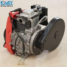 free shipping king way 4 stroke 49cc engine gas petrol motorized