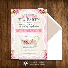 surprise fall birthday party invitations printable rustic
