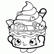 lot cute shopkins coloring pages leuk voor kids