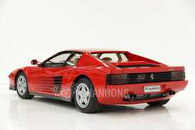 ferrari coupe sold ferrari testarossa coupe from the u0027ian cummins collection