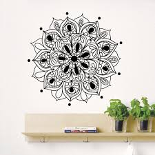 Wall Decals Mandala Ornament Indian by Online Get Cheap Interior Decoration Indian Style Aliexpress Com