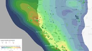 Map Of California And Arizona by M6 5 Earthquake Stresses Offshore San Andreas Fault Aka Mendocino