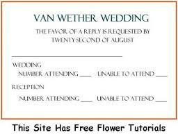 wedding rsvp wording exles wedding rsvp exle rsvp wording going to the chapel