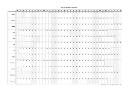 printable annual planner year planner australia