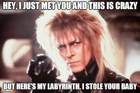 Labyrinth Meme - labyrinth david bowie imgflip