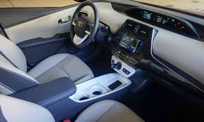 Toyota Interior Colors 2016 Toyota Prius First Drive Review Autonxt