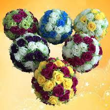 sale 30 cm 12 inch artificial flowers balls