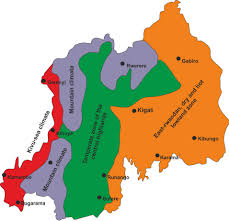 Rwanda Map Does The Global Warming Modify The Local Rwandan Climate