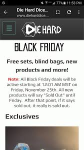 active black friday black friday u0026 cyber monday deals dnd