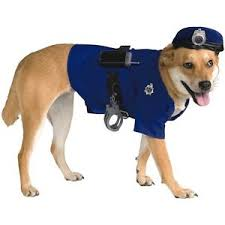 Halloween Dog Costume Police Dog K9 9 Doggy Halloween Pet Costume Ebay