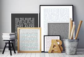 Bob Marley Home Decor Brilliant Decoration Song Lyric Wall Art Cheerful Dont Worry About