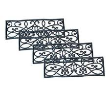 rubber stair treads u0026 runners rugs the home depot
