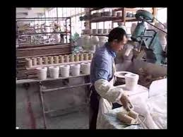 how to make porcelain mugs rolling formed process dellce com