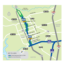Map Of Austin Tx 183a Toll Central Texas Regional Mobility Authority