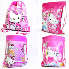 kitty backpack bags girls lovely cartoon