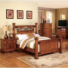 country style beds furniture of america country style poster bed overstock shopping