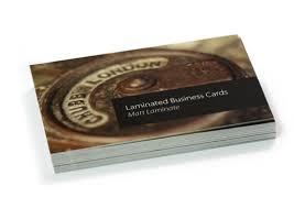 Matt Laminated Business Cards Matt Gloss Or Soft Touch Laminated Business Cards Www