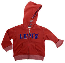levis logo full zip hoody mineral red 616993r37 jelly planet