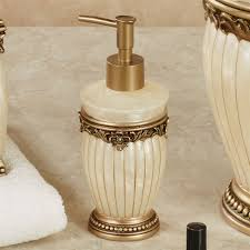Lotion Dispenser Roma Ivory Bath Accessories