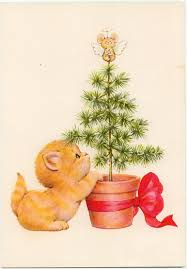 cute angels and kittens christmas cards marges8 u0027s blog