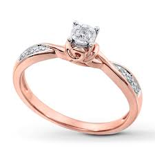 kay jewelers promise rings why should you go for rose gold promise rings wedding promise
