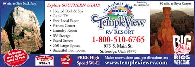 st george utah rv parks st george campgrounds rv camping in